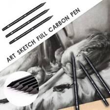 3 Pcs/set Carbon Sketch Pencil Woodless Charcoal Pencil Sketch Painting Art