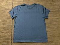 Marine Layer Adult Mens XL Tee T Shirt Short Sleeve Blue Crewneck