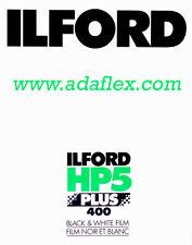 SHEET FILM 4x5 ILFORD HP5+ 400 ISO - 25 SHEET FILM 4x5 BLACK & WHITE