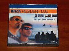 THE ORIGINAL IBIZA RESIDENT DJs 3x CD DJ PIPPI CESAR DE MELERO Deep Ambient RARE