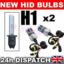 2x REPLACEMENT XENON HID Bulbs H1 15000k Fits 99% Kits
