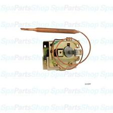 "Spa Hot Tub Thermostat Invensys 1/4""dia Bulb 12"" Cap 25A SPST 275-3123-00"