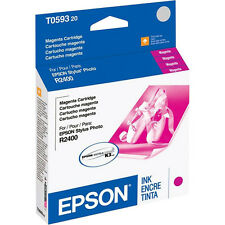 Genuine Epson T0593 magenta R2400 ink T059320 2400 59 593 T059 C13T059320