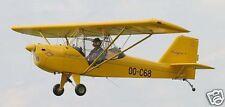 Calypso Ultracraft Airplane Desktop Wood Model Big New