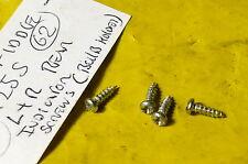 SYM FIDDLE 2 125 S AW12W 2012  LEFT + RIGHT REAR INDICATOR LOOM HOLDER SCREWS