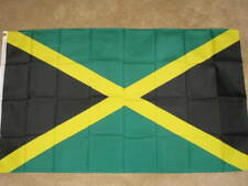 3X5 JAMAICA FLAG JAMAICAN FLAGS COUNTRY NEW BANNER F491