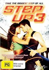 Step Up 3 - DVD VERY GOOD CONDITION FREE POSTAGE AUSTRALIA REGION 4