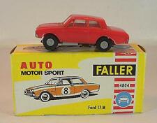 Slot Car Faller AMS Nr. 4804 Ford 17m Typ 1 Badewanne rot alte Papp-OVP #677