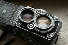 Exellent Rollei Rolleiflex F con Carl Zeiss Planar 80mm f2.8 6x6 Revised Tested