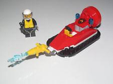 Lego ® City Minifig Figurine Pompier Bateau HoverCraft Aéroglisseur NEW