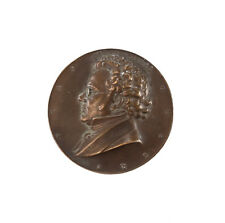 Franz Shubert Composer Bronze Medal by A. Hartig c1930