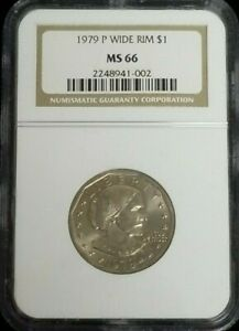 1979-P $1 Susan B. Anthony NGC MS-66
