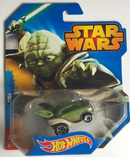 Nuevo Disney Star Wars Hot Wheels auto Yoda coche modelo mattel Limited Car