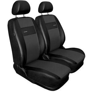 2XL-G Nero Grigio Universale Set coprisedili auto per SUZUKI JIMNY (similpelle)