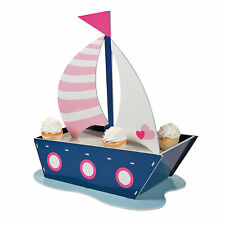 Nautical Girl Cupcake Stand - Party Supplies - 1 Piece