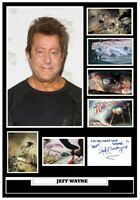 (#193) jeff wayne war of the worlds signed a4 photograph great gift @@@@@@@@@@@@