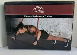 JDDZ Fitness Resistance Trainer with Loops   New in Box