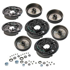 "4 Trailer 10 x 2 1/4"" Electric Brake 5 on 4.5 Hub Drum Complete Kit 3500lbs Axle"