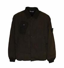 STONE ISLAND Brown Bomber Jacket Art 3915M320/891 Men's Size XXL