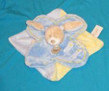 Doudou babynat lapin chien bleu en TTBE