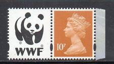 SG Y1767 10p Machin - WWF Prestige Booklet DX52 2011 - Litho Cartor U/M