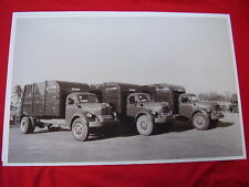 1949 REO NEW TRASH TRUCK FLEET MIAMI FL  11 X 17  PHOTO   PICTURE