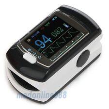 Fingertip Pulse Oximeter Contec CMS-50E FDA Certified Spo2 Monitor OLED Software