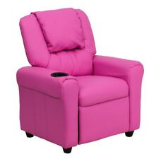 Flash Furniture Pink Kids Recliner, Pink - DG-ULT-KID-HOT-PINK-GG