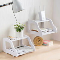 WiFi Router Holder Storage Plug Socket Craft Box Shelf Wall Hangings Bracket