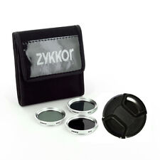 37MM NEUTRAL DENSITY FILTER KIT ND2 ND4 ND8,CAP for Sony HDR-XR160 New CAMERA,US