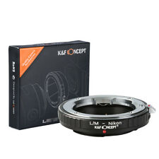 K&F Concept Lens Mount Adapter for Leica M Rangefinder Lens to Nikon Camera Body