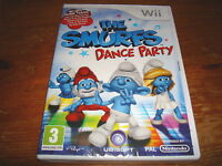 THE SMURFS DANCE PARTY ** NEW & SEALED ** Nintendo Wii Game