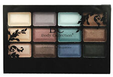 BC Body Collection Beauty Shadows ~ 12 Eye Shadow Palette