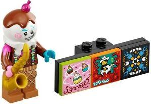 LEGO FIGURINE ICE CREAM SAXOPHONIST SERIE 1 VIDIYO REF 43101 *NEUF*