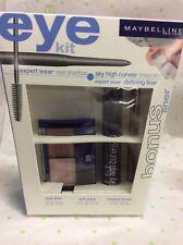 MAYBELLINE eye kit MASCARA SKY HIGH CURVES+ eyeshadow rose tints + liner new.