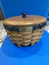 Longaberger 2008 Collectors Club Member Basket combo