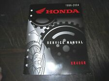 HONDA 1996 1997 1998 1999 2000 2001 2002 2003 2004 XR400R SERVICE MANUAL XR 400R
