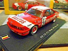 BMW 635 CSi #21 Winner 24h Spa 1983 Tassin Hahne Heyer Bastos limit Spark 1:43