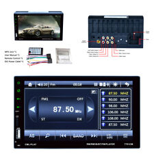 Car Capacitive Touch Screen Radio Audio Stereo 2Din Usb/Fm/Aux/Tf Mp5 Player Kit