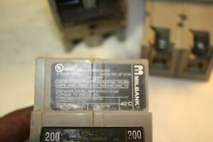 Milbank UQFP2200 UQFP 2 Pole 200 Amp 120/240 Vac Circuit Breaker