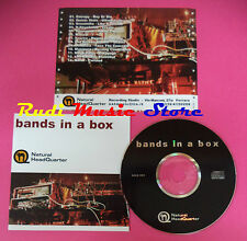 CD BANDS IN A BOX Compilation SENSIMILIA QUINTO STATO NOISE no mc vhs dvd(C37)
