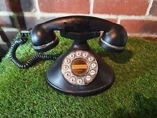 CHIC RETRO MYBELLE HOME PHONE BLACK CLASSIC DESIGN