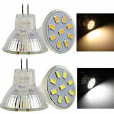 4/10x MR11 GU4 2W/3W/4W/5W 9/12/15/18SMD 5733 2835 LED Spotlight Light Lamp Bulb