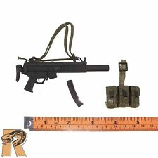 SWAT Sheriff - MP5 Machine Gun w/ Leg Pouch - 1/6 Scale - 21 Toys Action Figures