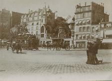 Montmartre Moulin rouge 1900 et 1933 - 2 photos