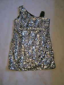 Party Bling - Silver Sequin Dress size 12