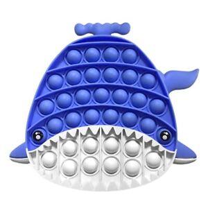 Push It Bubble Sensory Antistress Toy Autism Pop Fidget Children Whale Dinosaur