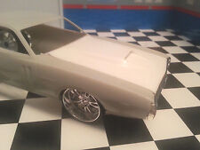 LEX'S SCALE MODELING Resin Custom Cowl Hood '71 Dodge Charger AMT 1/25.