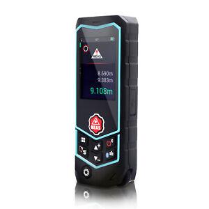 100m IP65 Laser Distance Digital Range Finder Meter Measuring Electronic Bubble
