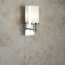 Searchlight LIMA bagno singolo LED luce parete con vetro a specchio 5611-1CC-LED